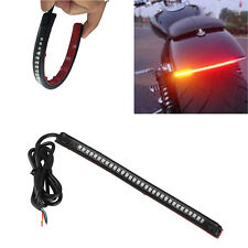 32 LED RED Motorcycle Integrated Tail Brake Stop Turn Signal Light Lamp Strip MW