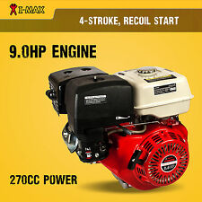 9.0HP Petrol Engine OHV Stationary Motor Horizontal Shaft Recoil Start