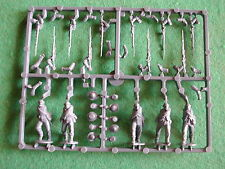 SPRUE/GRAPPE/ACW CONFEDERATE INFANTRY  5  PLASTIC MINIATURES   /PERRY 28MM
