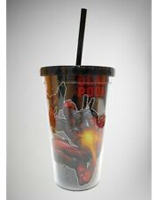 Deadpool Marvel Comics 18oz Licensed Tumbler & Straw Travel Cup