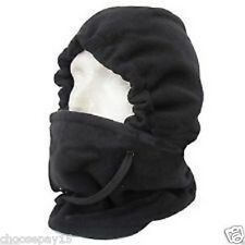 MEN ONE SIZE WINTER THERMAL WARM SNOOD BALACLAVA NECK WARMER HOODY SKI SNOW