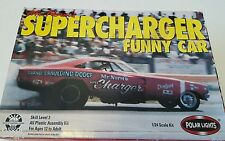 Mr.norm's supercharger funny car polar lights model kit #6501 1/24 scale