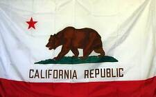 California Republic State Flag Banner 3' x 5' Polyester