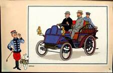 HERGE: CHROMO AUTOMOBILE N°53.