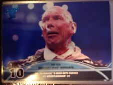 2013 Topps Best of WWE Top Ten Greatest Moments #10 Vince Mr. McMahon