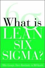 What is Lean Six Sigma by Michael L. George, (Paperback), McGraw-Hill , New, Fre