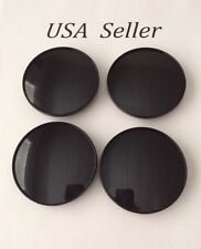 "4 pcs Black Universal  Empty Wheel Center Caps 68mm/2 11/16""  Can Fit BMW"