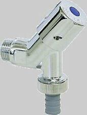 """neu Geräte- Anschluß- Ventil 1/2"""" mit Schlauchanschluß mit Rückflußverhinderer"""