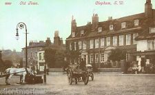Old Town, Clapham, coloured repro postcard, unposted