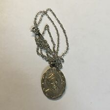 St Ignatius De Loyola Patron St of Soldiers Wounded Saint Medal on Chain