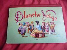 BLANCHE NEIGE livre animé en relief pop up  LUCOS GILDAS genre Kubasta