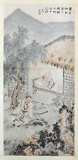 Chinese  Scroll  Ink  On  Paper  Painting   77