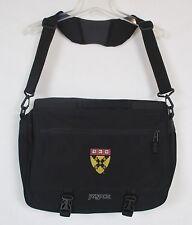 JANSPORT Ve-Ri-Tas Bookbag Messenger Computer Briefcase Travel Backpack Black