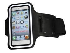Sport Jogging Armband Schutzhülle für Apple iPhone 5 Tasche Case Hülle Schwarz
