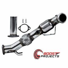 "MBRP 2013 - 2014 Ford Focus ST 2.0L Ecoboost 3"" Down Pipe w/ Hi Flow Cat FGS012"