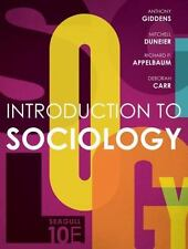 Introduction to Sociology by Anthony Giddens Paperback Book (English)