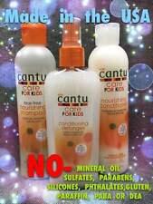 CANTU CARE FOR KIDS Set Shampoo, Conditioner, Detangler No SULFATES, PARABENS,
