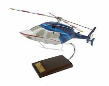 Bell 429 GlobalRanger Helicopter Desk Top Display Copter Huey 1/30 Scale Model