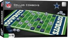 New - CHECKERS Family Board Game - NFL Dallas Cowboys Football Sports