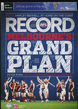 2012 AFL Football Record Carlton vs Geelong Cats June 8-11 unmarked