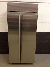 """Sub-Zero BI-36S/O 36"""" Refrigerator Freezer Side by Side Stainless Steel"""