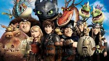 How to Train Your Dragon Toothless Cartoon Jigsaw Puzzle 1000 Movie Toys puzzle