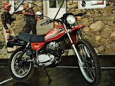 HONDA XL250S MODEL  FULL PAINTWORK DECAL KIT