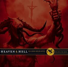 The Devil You Know by Heaven & Hell VINYL , May-2009, 2 LP LIMITED POSTER INCLUD