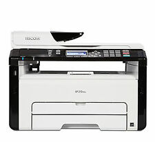 Ricoh SP213SNw 3-In-1 Monochrome Multifunction Wireless Laser Printer P/N:407630