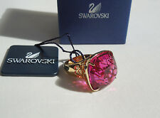 Swarovski NEW Night Time Fuchsia Ring size 5.5 (52) style #1090156 Tag/Box $190