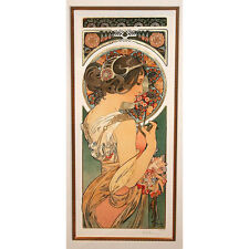 """""""PRIMROSE"""" by ALPHONSE MUCHA, Print Signed and Numbered"""