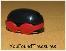 Monster High Ghoulia Yelps Pet Hoots Owl 's Scooter Helmet Goggles Glasses Part