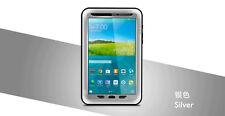 Love Mei Metallgehäuse für Samsung Galaxy Tab 8.4 Wasserdicht Stabiles silber