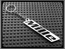 KEYRING for APRILIA RSV MILLE - STAINLESS STEEL - HAND MADE - CHAIN LOOP FOB