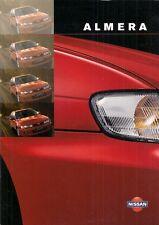 Nissan Almera 1998-99 UK Market Sales Brochure GTi SRi SLX Si GX Equation