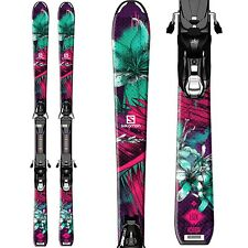 Salomon Q-Lux Junior Girl Ski w/ EZY5 Bindings 110cm