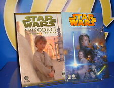 dos Tomos STAR WARS-episodio I y Episodio III