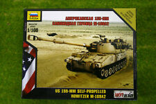 Zvezda US 155mm Self Propelled Howitzer Hot War 1/100 scale 7422
