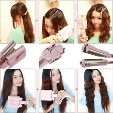 3 Barrels 32mm Large Size Big Hair Wave Curling Iron Hair Ceramic Curler Waver