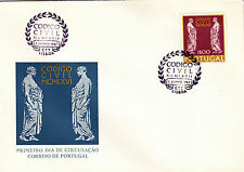PORTUGAL FIRST DAY CODIGO CIVIL (1967)
