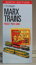 MARX TRAINS POCKET PRICE GUIDE Greenberg 9TH EDITION value book o gauge 108910