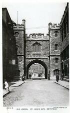 St John's Gate Smithfield Clerkenwell London sepia unused RP old postcard Rotary