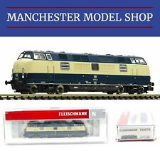 "Fleischmann 725078 N 1:160 Diesel locomotive 221 DB IV ""DCC SOUND"" NEW BOXED"