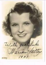"""MARION TALLEY OPERA SINGER / ACTRESS """"FOLLOW YOUR HEART"""" SIGNED PHOTO AUTOGRAPH"""