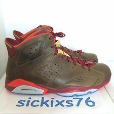 DS Men's Nike AIR JORDAN 6 RETRO 'Cigar' Sz 17/EUR 51.5 [384664 250] VI