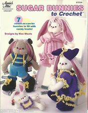 Sugar Bunnies to Crochet Annie's Attic Instruction Patterns Toys NEW AA 875534