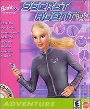 Secret Agent Barbie PC Game 2001 Mattel Complete CD-ROM Nice Very Rare