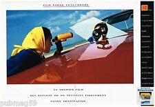 Publicité Advertising 1991 (2 pages) Diapositive Film Kodak Ektachrome