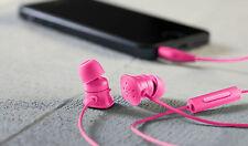 Belkin PureAV Noise Isolating In Ear Headphones Earphones Headset With Mic NEW