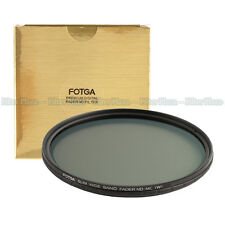 FOTGA 72mm Ultra Slim Multi-Coated 12 Layers Variable ND2-400 Fader MC-ND Filter